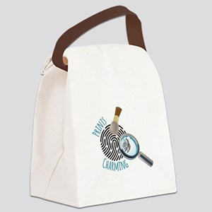 Prints Charming Canvas Lunch Bag