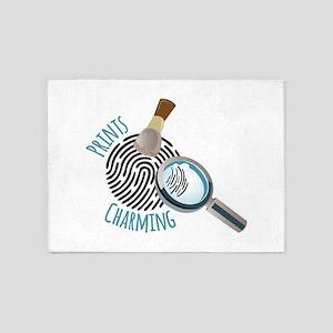 Prints Charming 5'x7'Area Rug