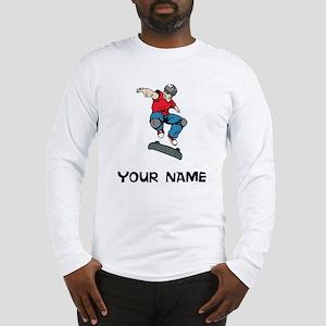 Skateboarder Long Sleeve T-Shirt
