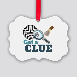 Get A Clue Ornament