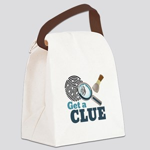 Get A Clue Canvas Lunch Bag