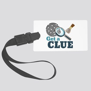 Get A Clue Luggage Tag
