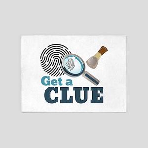Get A Clue 5'x7'Area Rug