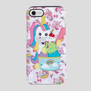 Unicorn Loves Ice Cream iPhone 8/7 Tough Case