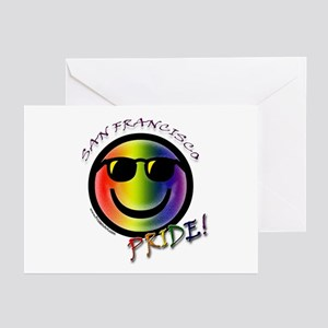 Gay Pride San Francisco Greeting Cards (Package of
