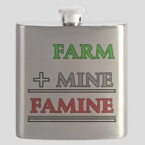 Farm plus Mine equals Famine Flask