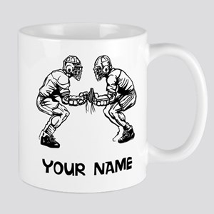 Lacrosse Faceoff Mugs