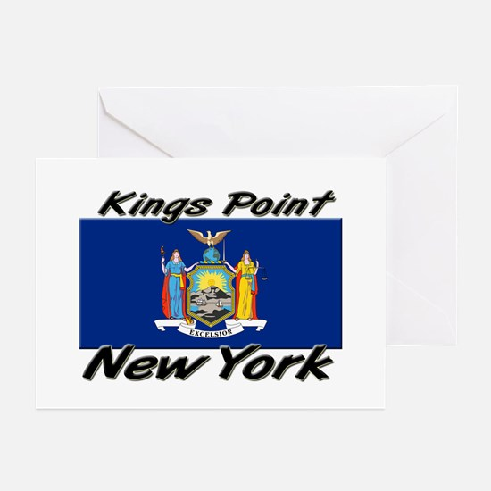 Kings Point New York Greeting Cards (Pk of 10)
