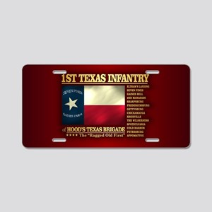 1st Texas Infantry (BH2) Aluminum License Plate