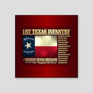 1st Texas Infantry (BH2) Sticker
