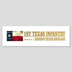 1st Texas Infantry (BH2) Bumper Sticker