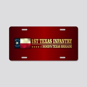 1st Texas Infantry (BH2) Aluminum License Plate