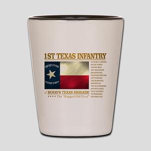 1st Texas Infantry (BH2) Shot Glass
