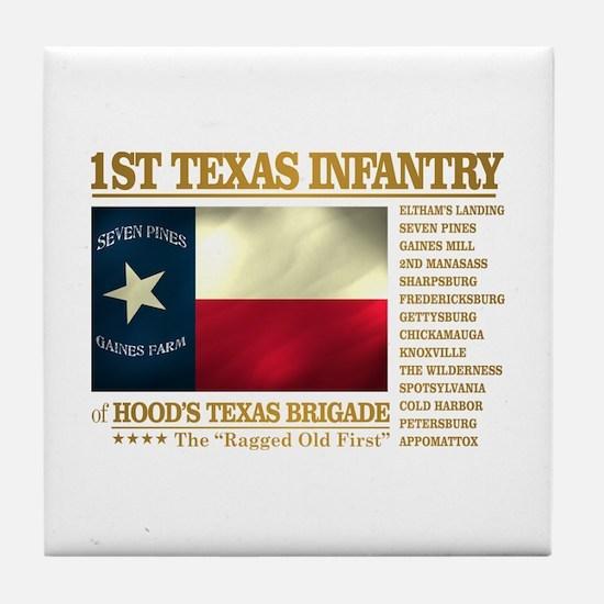 1st Texas Infantry (BH2) Tile Coaster