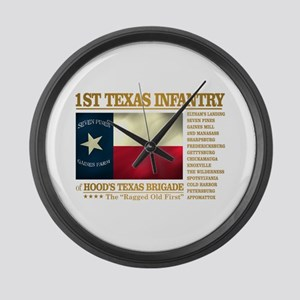 1st Texas Infantry (BH2) Large Wall Clock