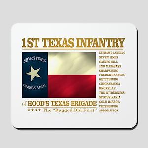 1st Texas Infantry (BH2) Mousepad