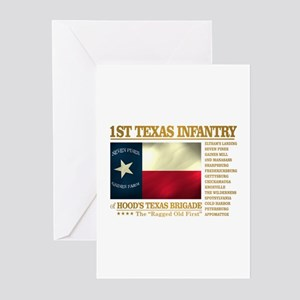 1st Texas Infantry (BH2) Greeting Cards