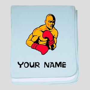 Boxer baby blanket