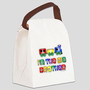 Big Bro Train Canvas Lunch Bag