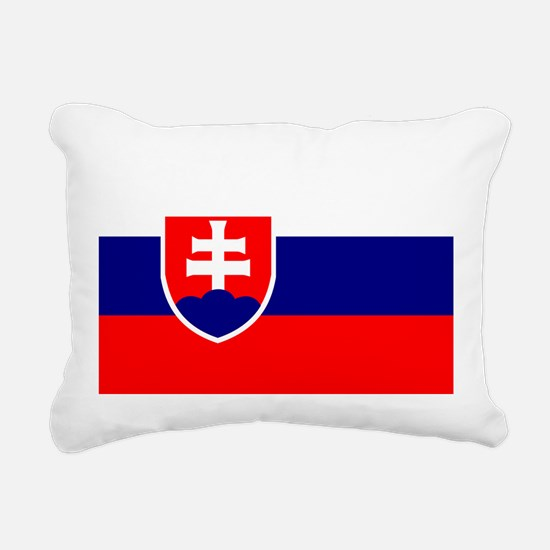 Slovakia Rectangular Canvas Pillow