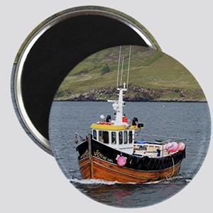 Fishing boat, Portree, Isle of Skye Magnet