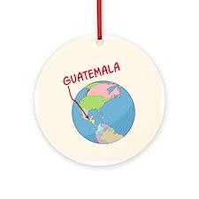 Guatemalan Globe Ornament (Round)