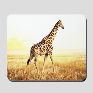 Giraffe Mousepad