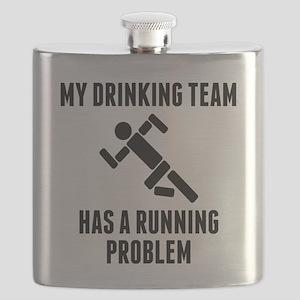 Drinking Team Running Problem Flask