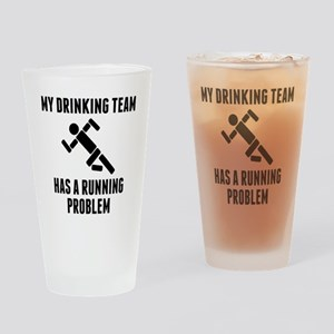 Drinking Team Running Problem Drinking Glass