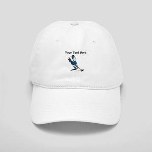 Hockey Player Baseball Cap