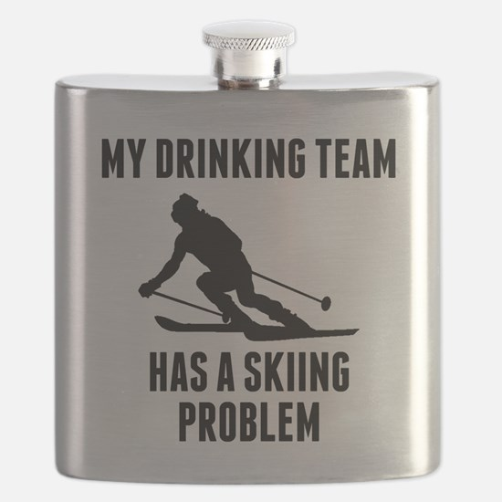 Drinking Team Skiing Problem Flask