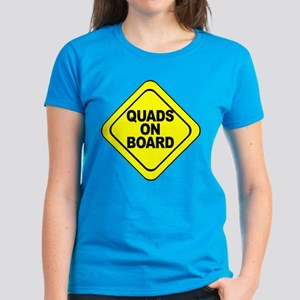 Quads on Board Women's Dark T-Shirt