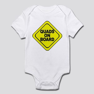 Quads on Board Infant Bodysuit