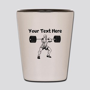 Weightlifter Shot Glass