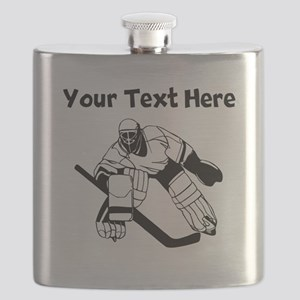 Hockey Goalie Flask