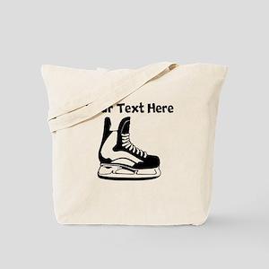 Hockey Skate Tote Bag
