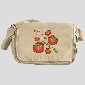 Head To-Ma-Toes Messenger Bag