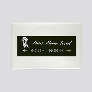 John Muir Trail, California Rectangle Magnet