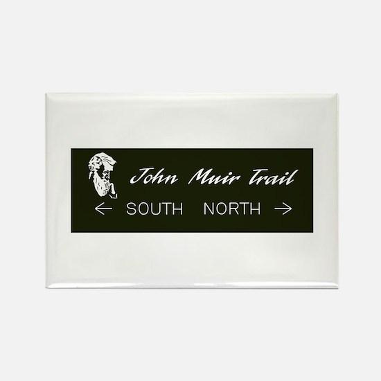 John Muir Trail, California Rectangle Magnet