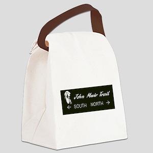 John Muir Trail, California Canvas Lunch Bag