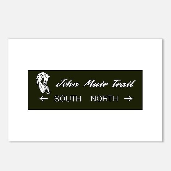 John Muir Trail, Californ Postcards (Package of 8)