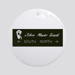John Muir Trail, California Round Ornament