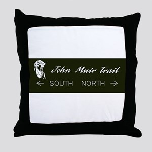 John Muir Trail, California Throw Pillow