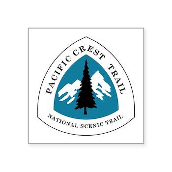 Pacific Crest Trail, Califo Square Sticker 3