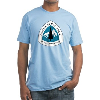 Pacific Crest Trail, California Fitted T-Shirt
