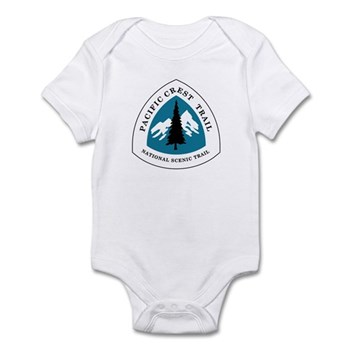Pacific Crest Trail, California Infant Bodysuit