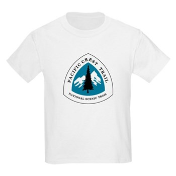 Pacific Crest Trail, California Kids Light T-Shirt