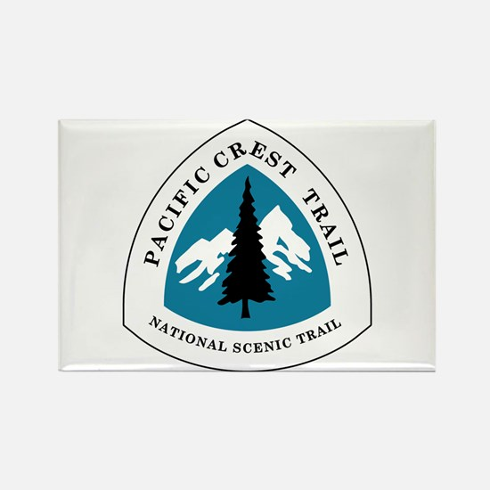 Pacific Crest Trail, California Rectangle Magnet