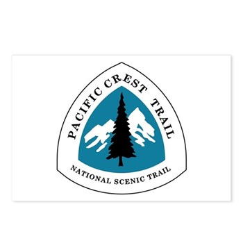 Pacific Crest Trail, Cali Postcards (Package of 8)