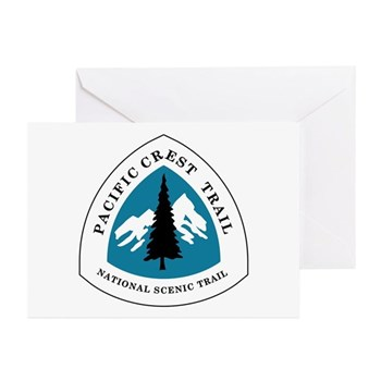 Pacific Crest Trail, Cal Greeting Cards (Pk of 10)